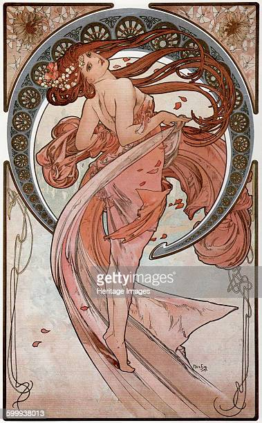 Dance 1898 Private Collection Artist Mucha Alfons Marie