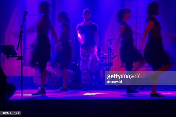 dance and drama - worshipper stock pictures, royalty-free photos & images