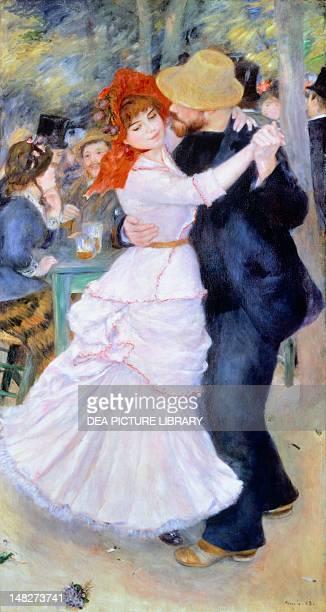 Dance at Bougival 18821883 by PierreAuguste Renoir oil on canvas 182x98 cm Boston Museum Of Fine Arts