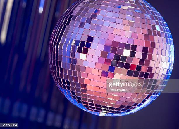 A dance club mirror ball