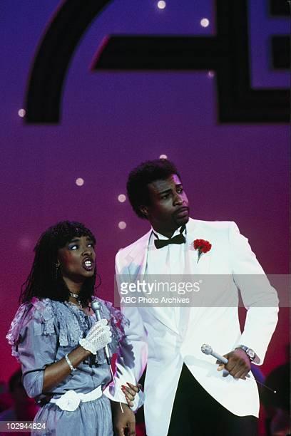 """Dance Contest"""" - Airdate May 24, 1984. SIEDAH GARRETT;DENNIS EDWARDS"""