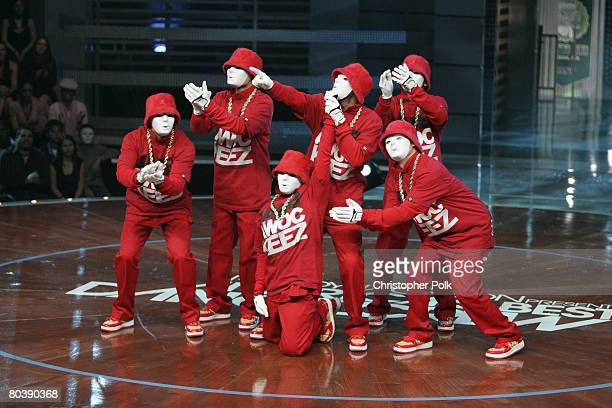 CULVER CITY CA MARCH 18 Dance crew JabbaWockeez perform during taping of Randy Jackson Presents America's Best Dance Crew at Sony Studios on March 18...