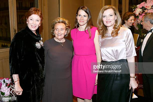 Dance Director of the 'Opera de Paris' Brigitte Lefevre Bernadette Chirac Aurlie Filippetti and Valerie Trierweiler attend Tricentenary of the French...