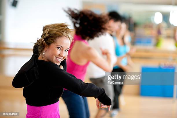 Dance fitness group