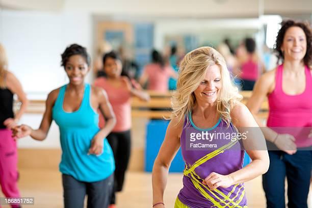 Dance fitness group