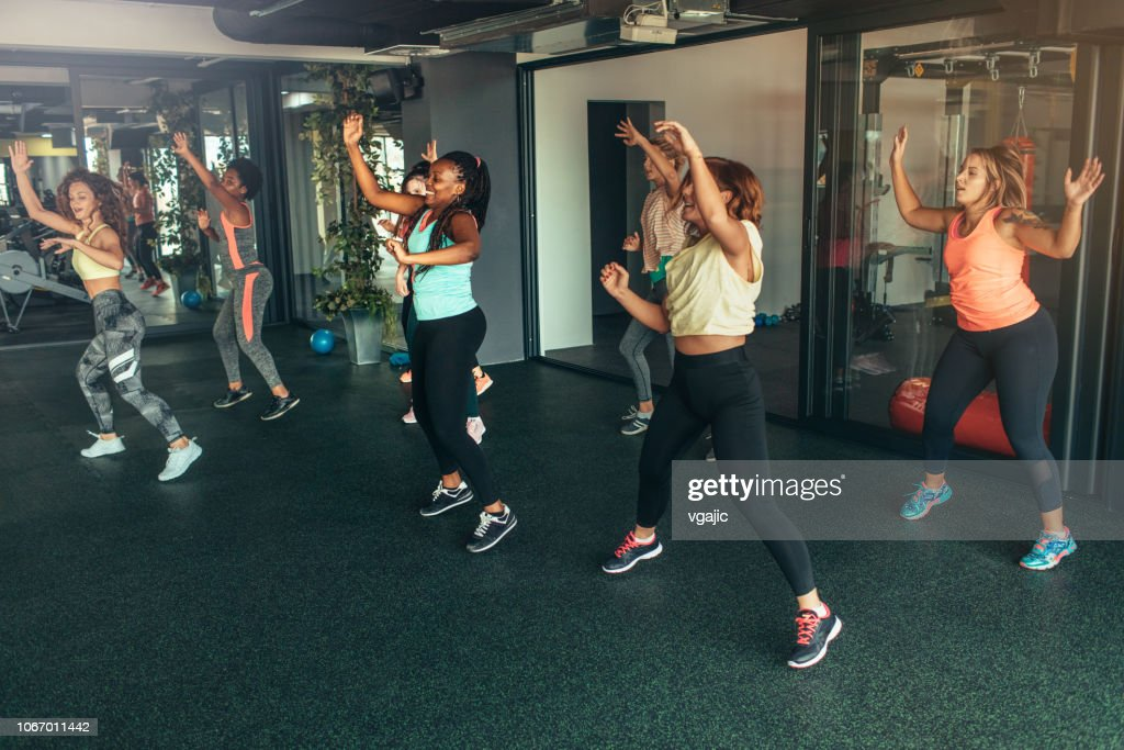 Dance Fitness : Stock Photo