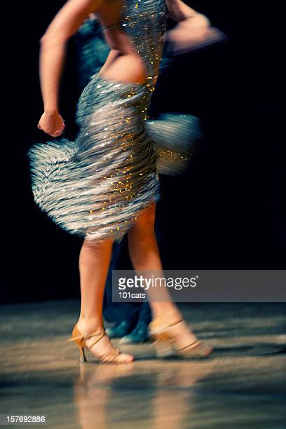 dance forever - salsa dancing stock photos and pictures