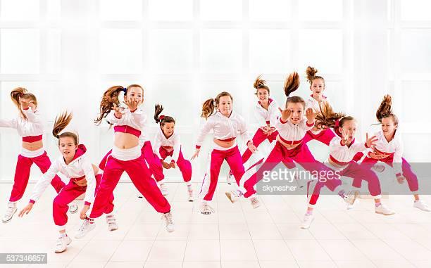 Dance group.