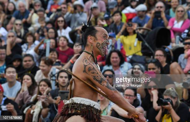 Dance groups perform for hundreds of spectators during Dance Rites at Sydney Opera House on November 24 2018 in Sydney Australia Dance Rites is a...