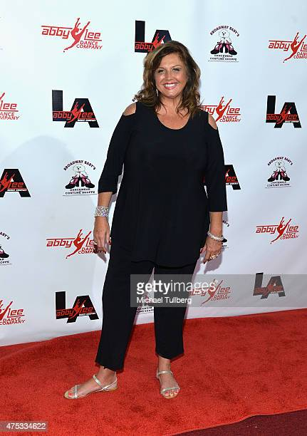 Dance instructor Abby Lee Miller attends the Abby Lee Dance Company LA's VIP Grand Opening at Abby Lee Dance Company LA on May 30 2015 in Santa...