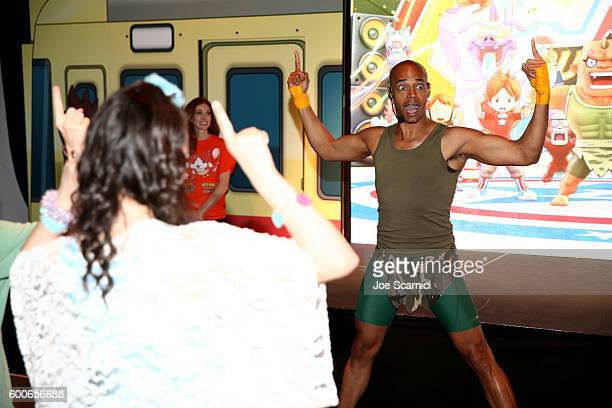 'Dance It Out' founder Billy Blanks Jr attends the YOKAI WATCH 2 preview event at Siren Studios on September 8 2016 in Hollywood California