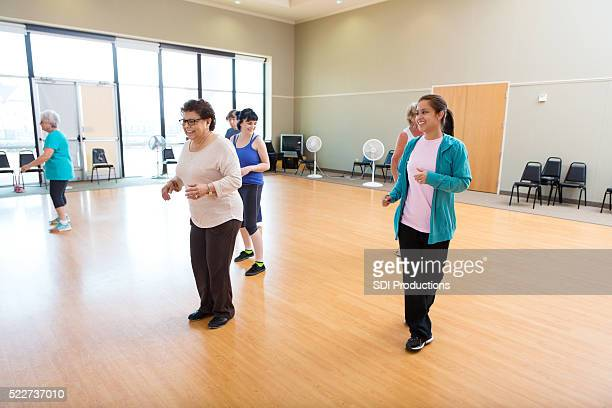 Dance lessons at local health club