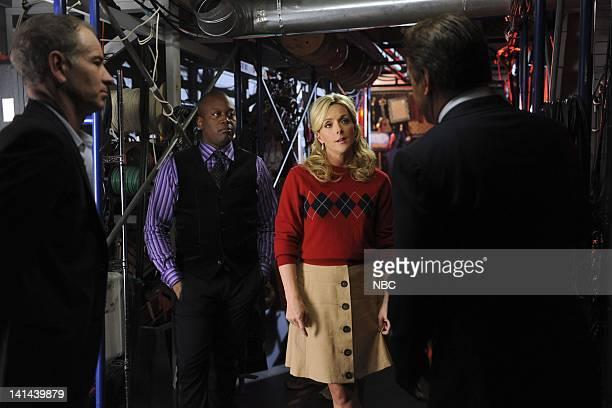30 ROCK Dance Like Nobody's Watching Episode 601 Pictured John McEnroe as Himself Tituss Burgess as D'Fwan Jane Krakowski as Jenna Maroney Alec...
