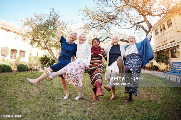 dance like you've never danced before - 80 89 years stock pictures, royalty-free photos & images
