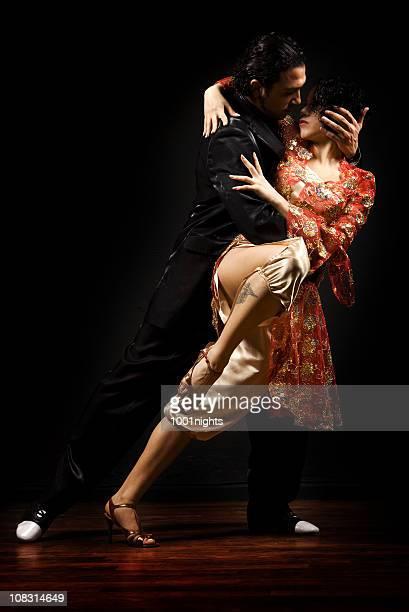 Pasión de baile de Tango