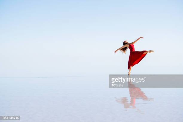dance on the lake - purple shoe stock pictures, royalty-free photos & images