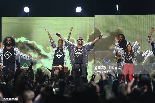 Dance Party onstage during Oprah's 2020 Vision Your Life in Focus Tour presented by WW at American Airlines Center on February 15 2020 in Dallas Texas