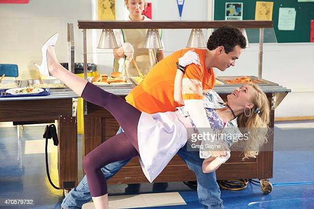 THE GOLDBERGS Dance Party USA Thinking Pop's luck can rub off on him Adam gambles at school and loses his toys as a result Beverly replaces them but...