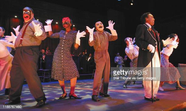 Duane Braley/Star TribuneSt Paul Mn Fri July 23 2004Dress rehearsal before a live audience of The Last Minstrel Show at the History Theatre The...