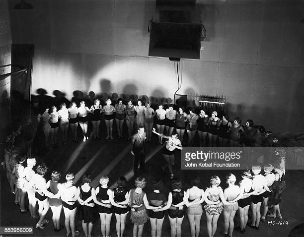 Dance scene for the MGM movie 'The March of Time', 23rd January 1930.