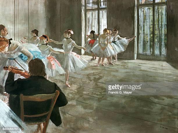 Dance School by Edgar Degas
