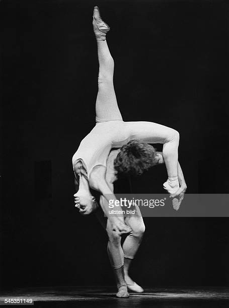 Dance study with Tania Bari and Jorge Donn from a ballet by Maurice Bejart