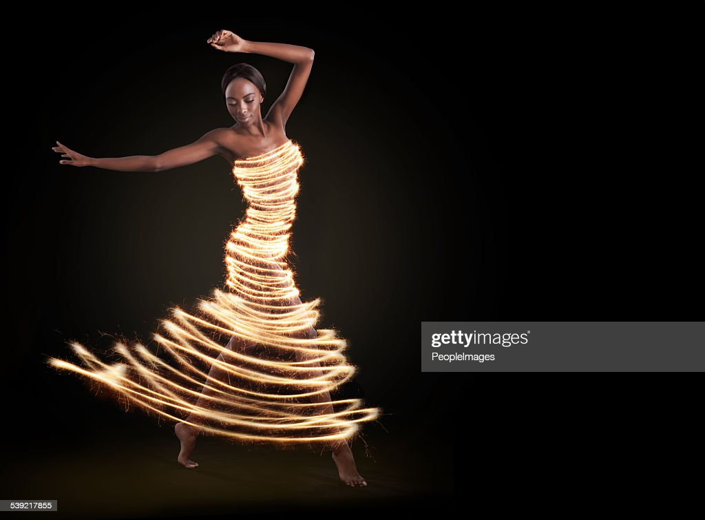 Dance to the light in your soul : Stock Photo