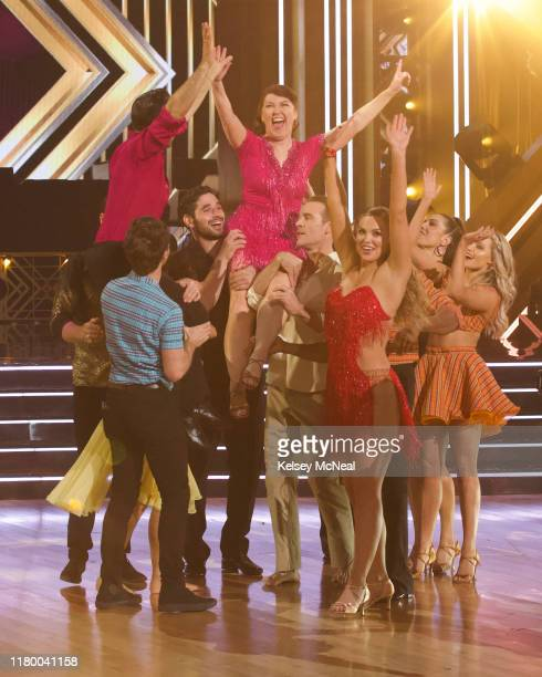 "Dance-Off Week"" - Seven celebrity and pro-dancer couples return to the ballroom to compete on the eighth week of the 2019 season of ""Dancing with the..."