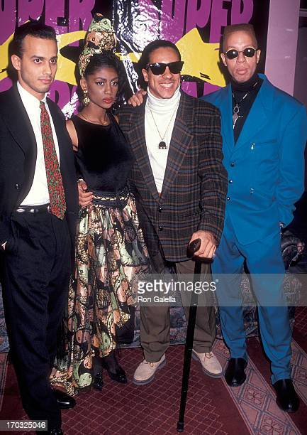 Dance/Pop group C C Music Factory attends the Sixth Annual New York Music Awards After Party on November 1 1991 at the China Club in New York City