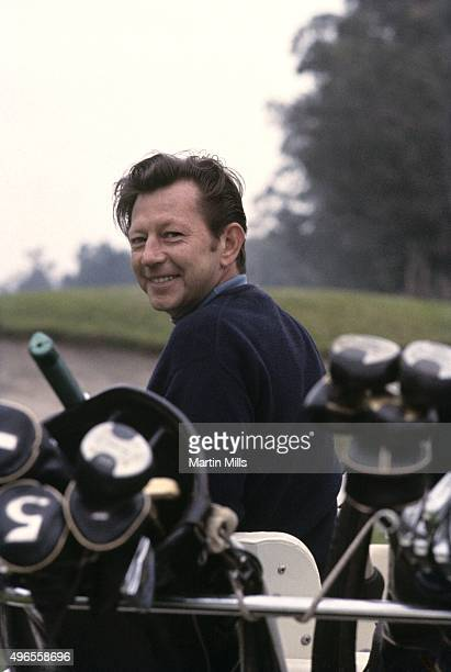 Dancer actor and singer Donald O'Connor plays golf circa 1967