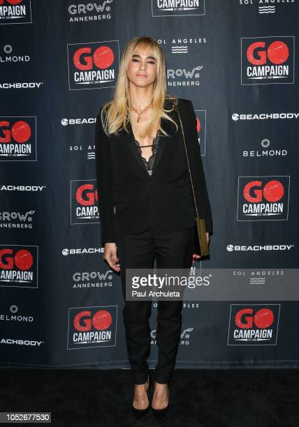 Dancer / Actress Sofia Boutella attends the GO Campaign Gala 2018 at the City Market Social House on October 20 2018 in Los Angeles California