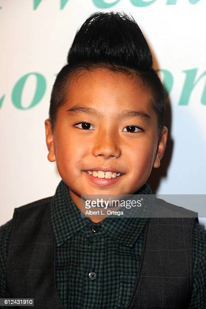 Dancer Aidan Prince arrives for the Premiere Of Tanner Gordon Productions' A Week In London held at ArcLight Cinemas Cinerama Dome on October 3 2016...