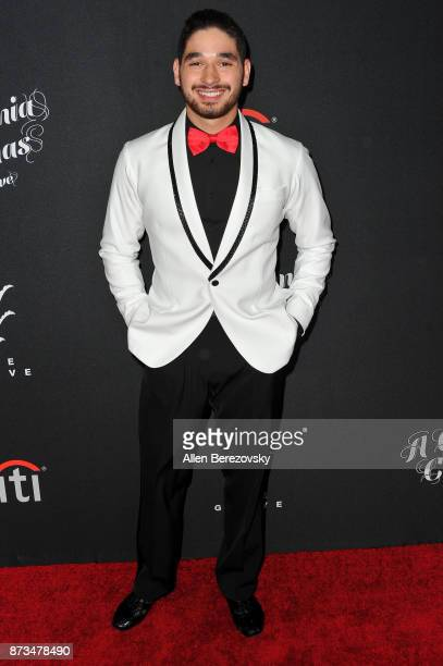 Dancer Alan Bersten attends A California Christmas at The Grove Presented by Citi on November 12 2017 in Los Angeles California