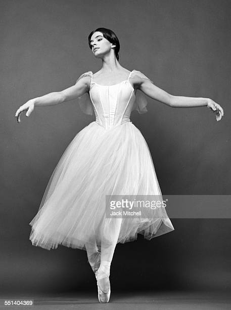 ABT dancer Alessandra Ferri in 'Giselle' in June 1987