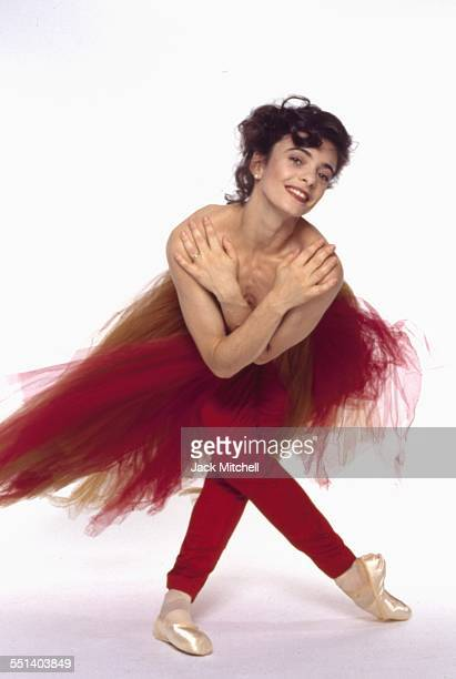 "ABT dancer Alessandra Ferri in Kenneth MacMillan's ""Manon"" in 1993"