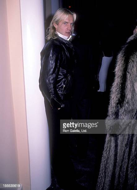 Dancer Alexander Godunov attends Susan Sarandon's Party for Robert Tracy on November 13 1983 at The Limelight in New York City