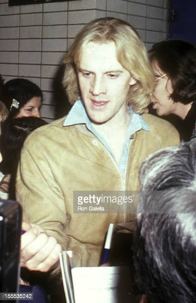 Dancer Alexander Godunov attends the American Ballet Theatre's 40th Anniversary Celebration on May 4 1980 at The Metropolitan Opera House Lincoln...