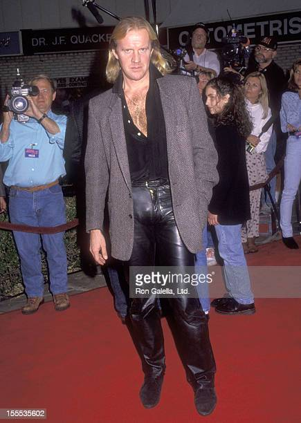Dancer Alexander Godunov attends the Lethal Weapon 3 Westwood Premiere on May 11 1992 at Mann Village Theatre in Westwood California