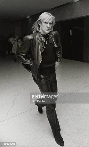 Dancer Alexander Godunov attends the performance of Sophisticated Ladies on December 3 1981 at the City Center in New York City