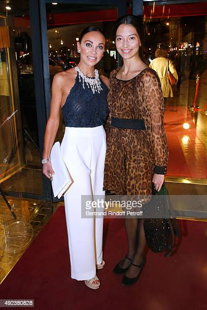 Dancer Alexandra Cardinale and Paris Opera's dancer Hanna O'Neill attend the Fouquet's Paris Restaurant presents its Menu 'Twisted' by the Chef...