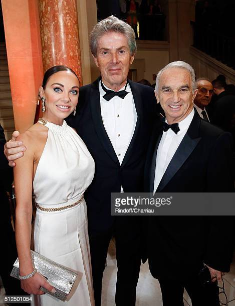 Dancer Alexandra Cardinale President of Groupe Barriere Dominique Desseigne and President of Cesar's Academy Alain Terzian attend the Cesar Film...