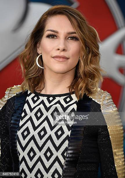 Dancer Alison Holker arrives at the Premiere of Sony Pictures' Ghostbusters at TCL Chinese Theatre on July 9 2016 in Hollywood California