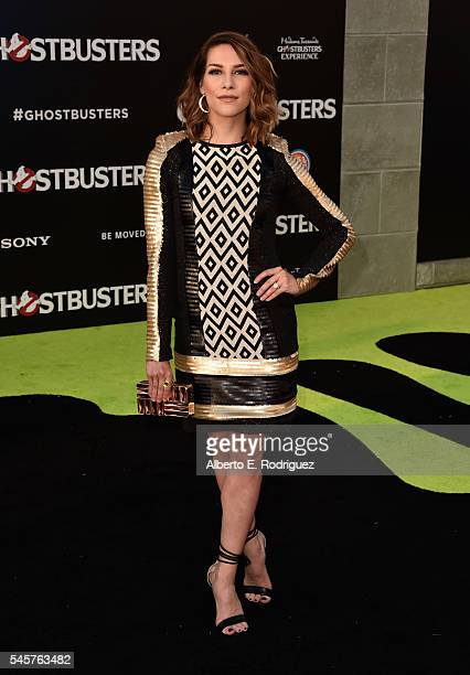 Dancer Alison Holker arrives at the Premiere of Sony Pictures' 'Ghostbusters' at TCL Chinese Theatre on July 9, 2016 in Hollywood, California.