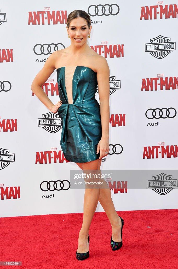 "Premiere Of Marvel Studios ""Ant-Man"" - Arrivals : News Photo"