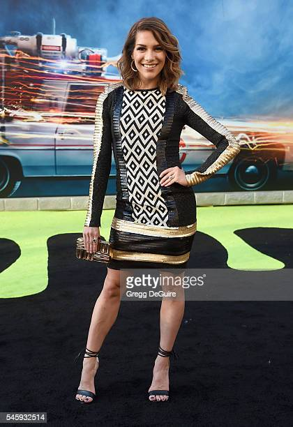 Dancer Allison Holker arrives at the premiere of Sony Pictures' Ghostbusters at TCL Chinese Theatre on July 9 2016 in Hollywood California