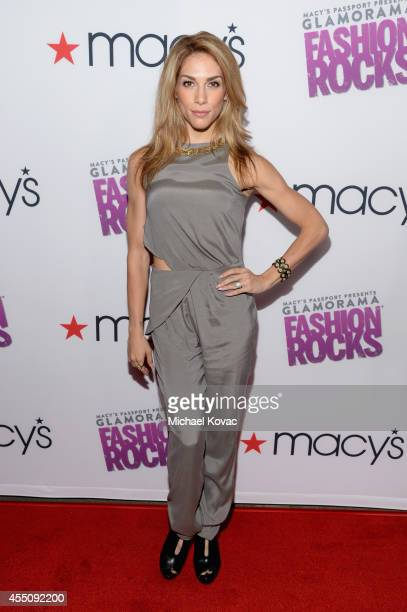 Dancer Allison Holker attends Glamorama Fashion Rocks presented by Macy's Passport at Create Nightclub on September 9 2014 in Los Angeles California