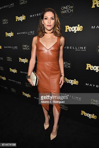 Dancer Allison Holker attends People's Ones to Watch event presented by Maybelline New York at EP LP on October 13 2016 in Hollywood California