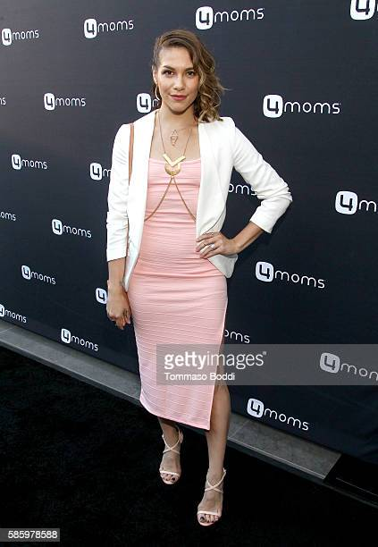 Dancer Allison Holker attends the 4moms Car Seat launch event at Petersen Automotive Museum on August 4 2016 in Los Angeles California