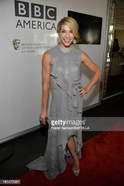 Dancer Allison Holker attends the BAFTA LA TV Tea 2013 presented by BBC America and Audi held at the SLS Hotel on September 21, 2013 in Beverly...