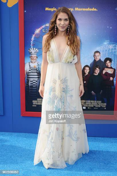Dancer Allison Holker attends the Los Angeles Premiere 'Paddington 2' at Regency Village Theatre on January 6 2018 in Westwood California